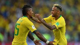 Неймар и Бразилия - первые на