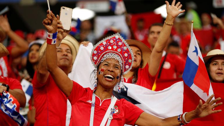 Четверг. Саранск. Панама - Тунис - 1:2. Несмотря на поражение, панамские болельщики не унывают,   ведь их сборная впервые выступила на мировом первенстве. Фото REUTERS