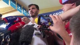 Александр Ерохин - о матче с Испанией