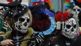 День мертвых мексиканцев в Москве