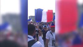 Франция - Аргентина. Антураж перед матчем