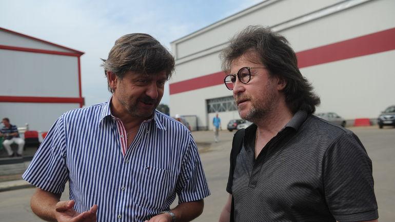 "Андрей ФЕДУН (слева) и Александр КУТИКОВ. Фото Федор УСПЕНСКИЙ, ""СЭ"""