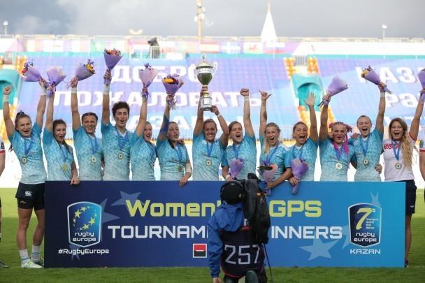 Женская сборная России по Регби-7. Фото Федерация регби России
