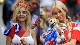 Баттл Наталья vs Эля. Кто самая красивая болельщица?