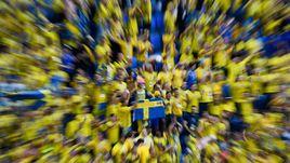 Швеция - Швейцария - 1:0. Видеообзор