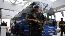 Как охраняют сборную России в Сочи