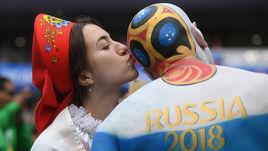 Самые яркие поцелуи на чемпионате мира