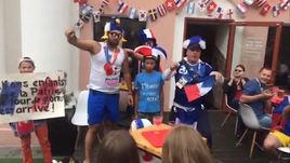 Французские болельщики в восторге от Кильяна Мбаппе. Они посвятили ему песню