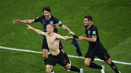 Хорватский футболист посвятил победу Украине. Подробности