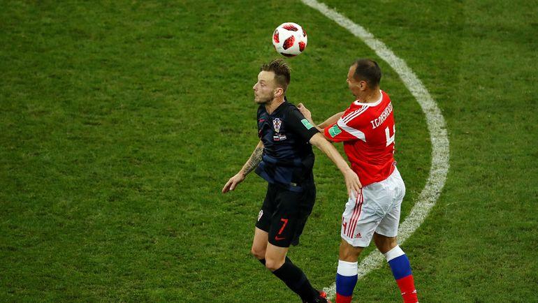 Сергей ИГНАШЕВИЧ (справа) и Иван РАКИТИЧ. Фото AFP
