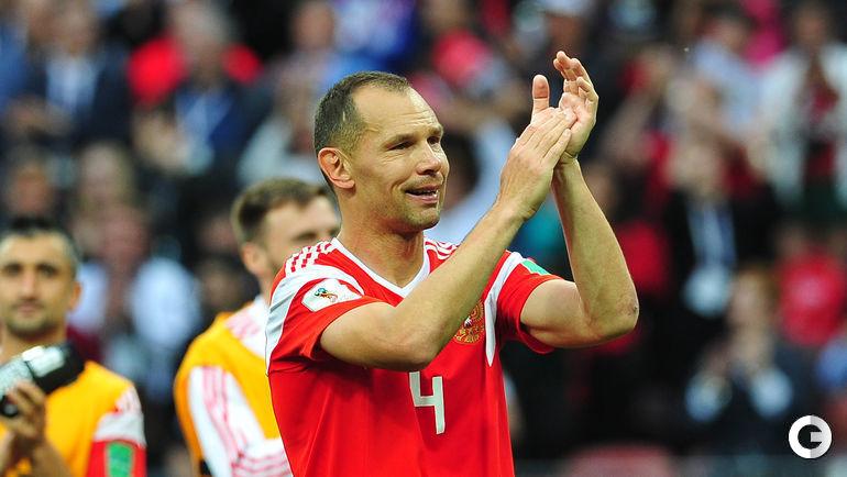 14 июня 2018 года. Москва. Россия - Саудовская Аравия - 5:0. Сергей ИГНАШЕВИЧ.