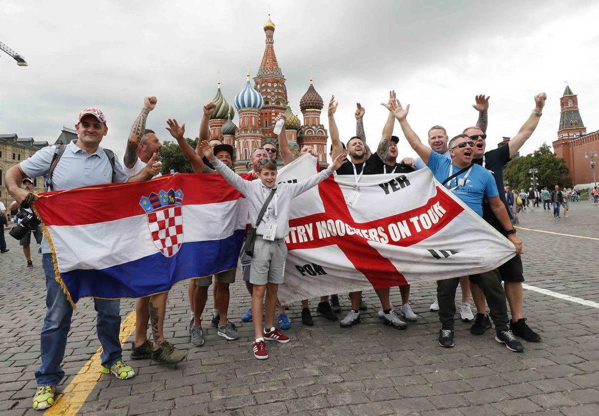 Англия vs Хорватия. Долой политику! Нам нужен футбол
