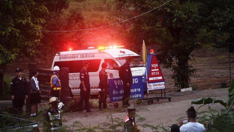 В Таиланде завершена операция по спасению детей. Фото AFP
