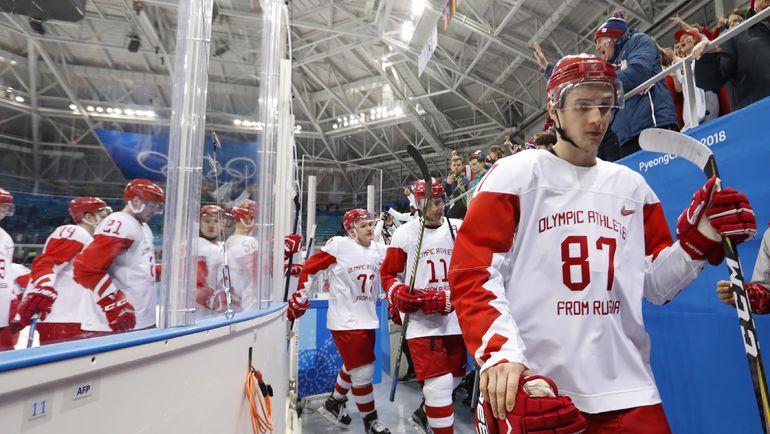 Вадим ШИПАЧЕВ (№87) на Олимпиаде оказался в запасе после неудачного старта. Фото REUTERS