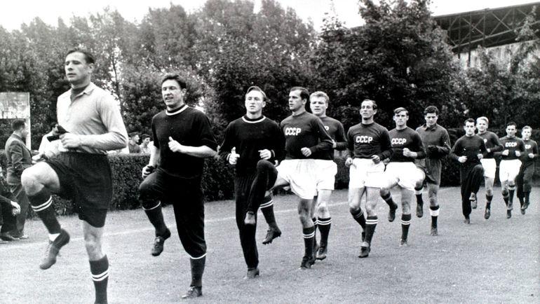 8 декабря 1956 года советские футболисты выиграли золото Олимпиады в Мельбурне. Фото Федор АЛЕКСЕЕВ