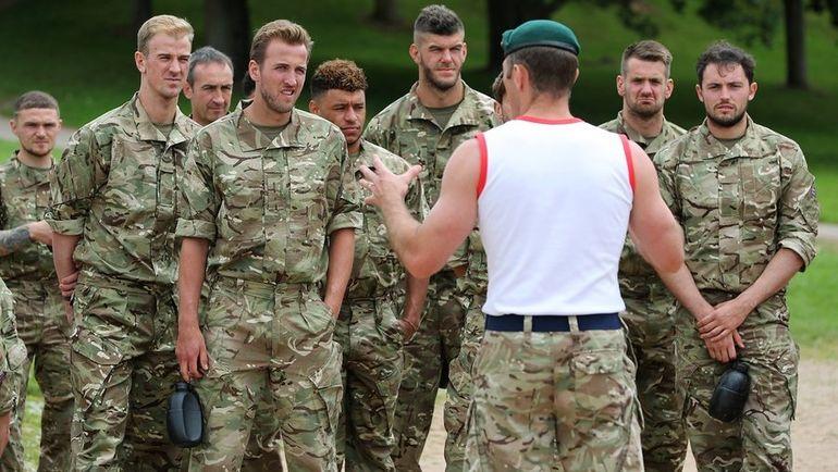 Июнь 2017 года. Игроки сборной Англии. Фото twitter.com