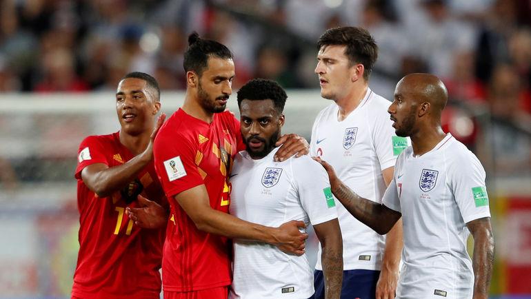 В третьем матче группового этапа Бельгия и Англия сыграли в поддавки