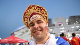 Цветная ушанка и самый красивый кокошник на чемпионате мира
