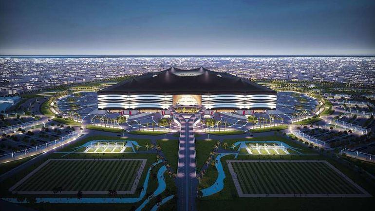 """Проект стадиона """"Аль-Байт"""" (Аль-Хор). Фото AFP"""