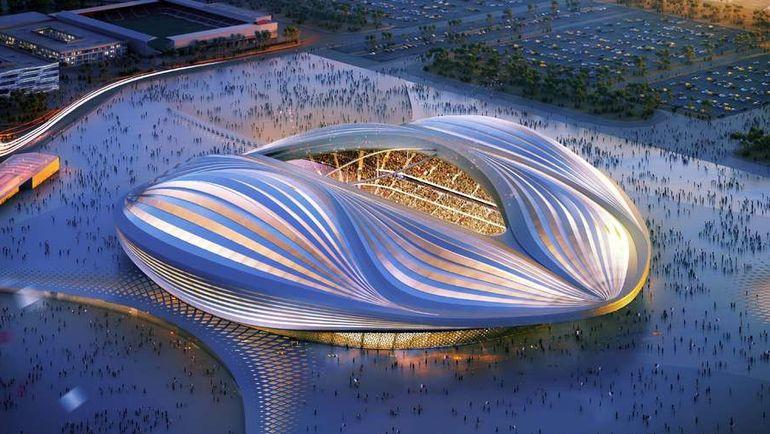 """Проект стадиона """"Аль-Вакра"""" (Аль-Вакра). Фото AFP"""