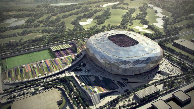 "Проект стадиона ""Фонд Катара"" (Доха). Фото AFP"
