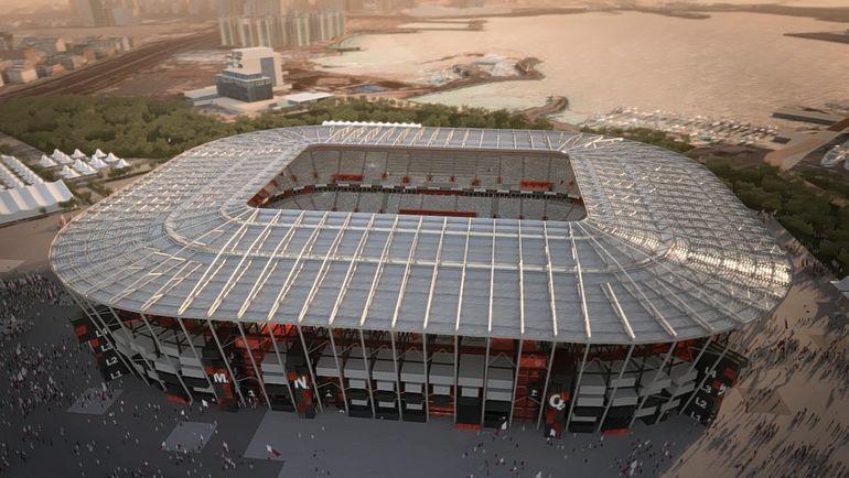 """Проект стадиона """"Рас Абу Абуд"""" (Доха)."""