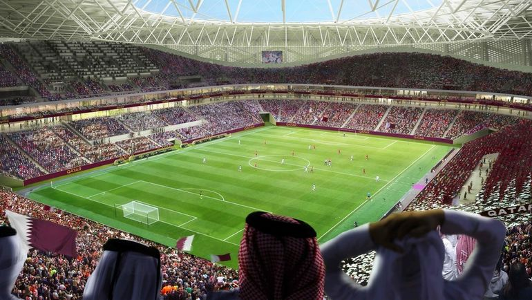 """Проект стадиона """"Аль-Тумама"""" (Доха). Фото AFP"""