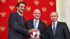 Джанни Инфантино по-русски признается в любви к России