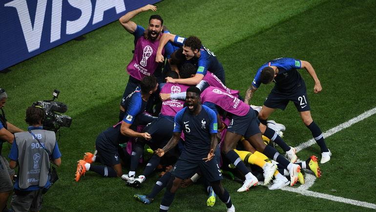 """Сегодня. Москва. Франция - Хорватия - 4:2. Французы - двукратные чемпионы мира!! Фото Дарья ИСАЕВА, """"СЭ"""""""