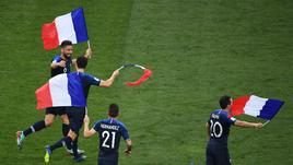 Франция - чемпион! Крутые кадры финала