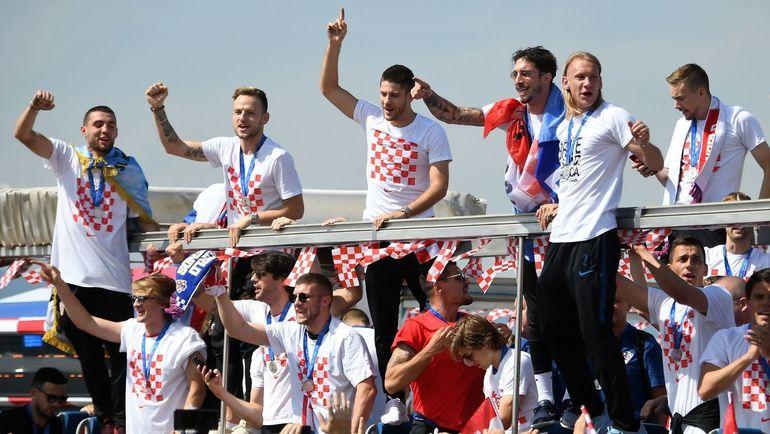Сборная Хорватии. Фото REUTERS., REUTERS