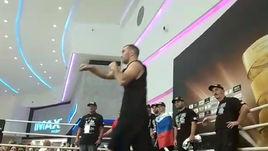 Гассиев выступил перед публикой в Москве