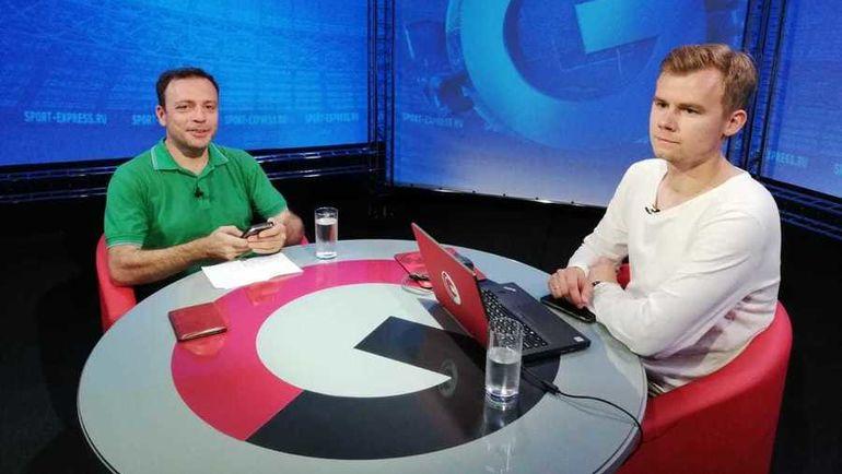 """Игорь РАБИНЕР (слева) и Дмитрий ЗЕЛЕНОВ. Фото """"СЭ"""""""