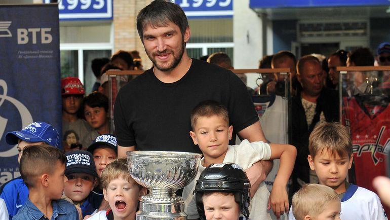 В Америке Овечкина признали спортсменом года. До него хоккеисты не получали этот приз