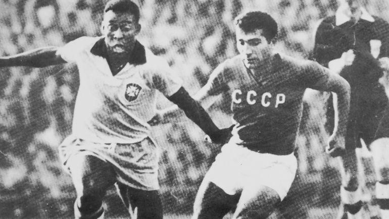 Георгий СИЧИНАВА и ПЕЛЕ.