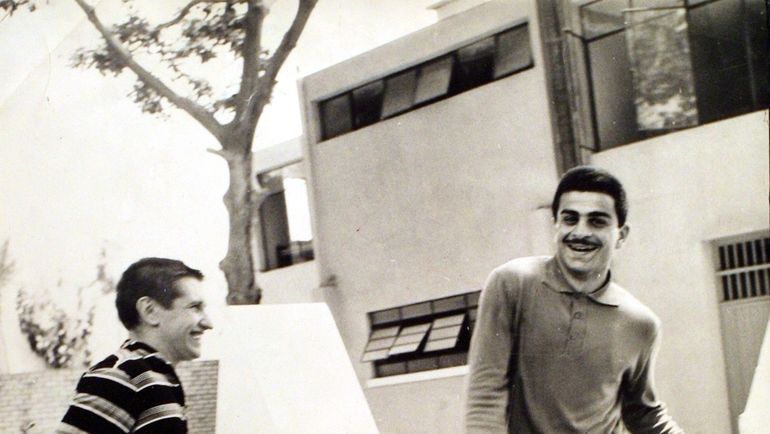 Валерий МАСЛОВ и Муртаз ХУРЦИЛАВА.
