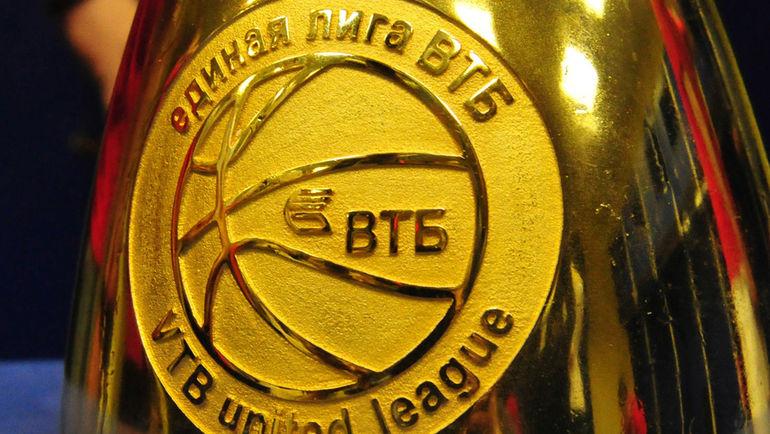 """Трофей Единой Лиги ВТБ. Фото Никита УСПЕНСКИЙ, """"СЭ"""""""