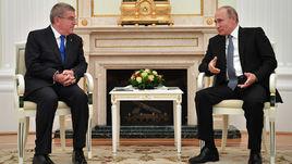 Путин не исключает летней Олимпиады. А Бах хочет потеплений с Россией?