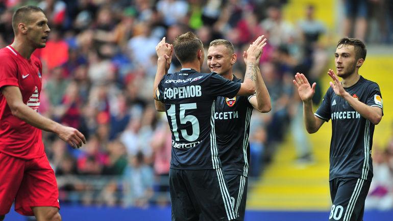 ЦСКА и«Енисей» сыграли вничью втоварищеском матче