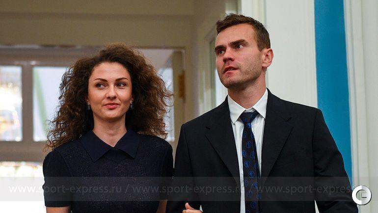 28 июля. Москва. Игорь АКИНФЕЕВ и Екатерина ГЕРУН.