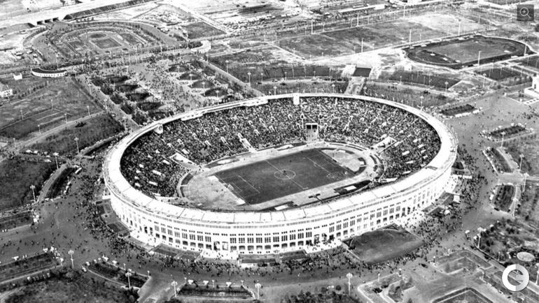 """Год основания стадиона """"Лужники"""" - 1956 год."""