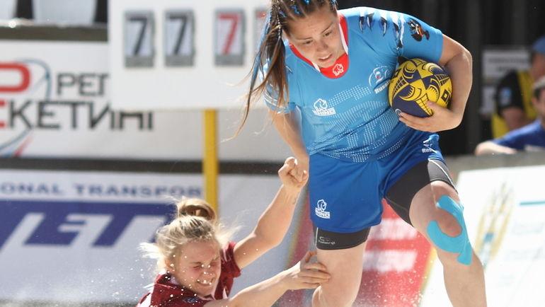 4-5 августа в Москве пройдет второй чемпионат Европы по пляжному регби. Фото Антон ХАЛИЗОВ