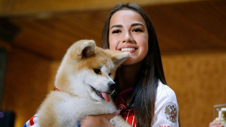 Алина ЗАГИТОВА и Масару. Фото AFP