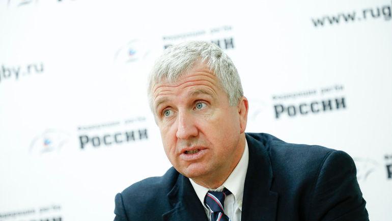 Валлиец Лин Джонсон возглавил сборную Российской Федерации порегби-15