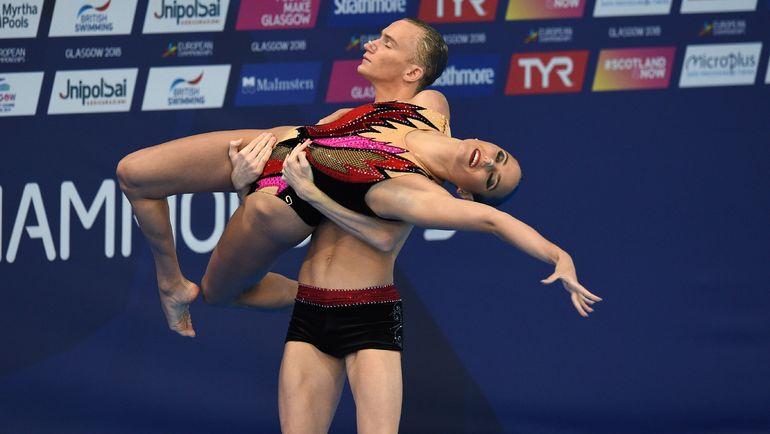Майя ГУРБАНБЕРДИЕВА и Александр МАЛЬЦЕВ. Фото AFP