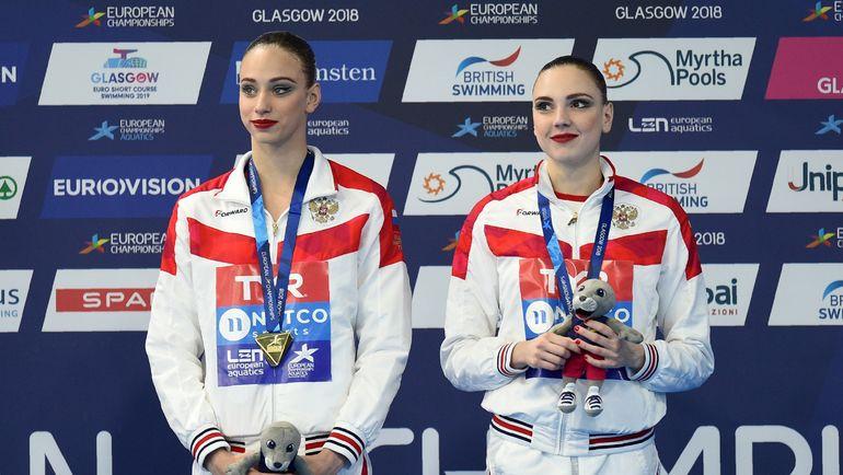 Светлана КЕЛЕСНИЧЕНКО и Варвара СУББОТИНА. Фото AFP