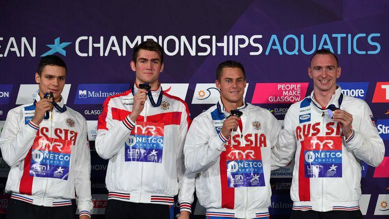 Русские пловцы отличились начемпионате Европы
