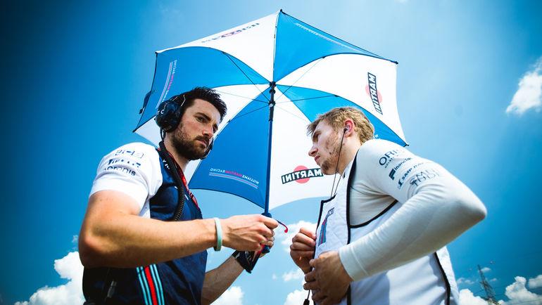 Сергей СИРОТКИН (справа) и Том КЛАРК. Фото Евгений САФРОНОВ