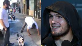 Хабиб издевался над бездомными. Болельщики в шоке