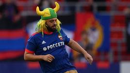 Бразилец - самый популярный болельщик России. Это ненормально, но конкурентов нет